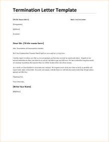 Termination Letter Agreement Sample 6 Contract Termination Letter Template Timeline Template