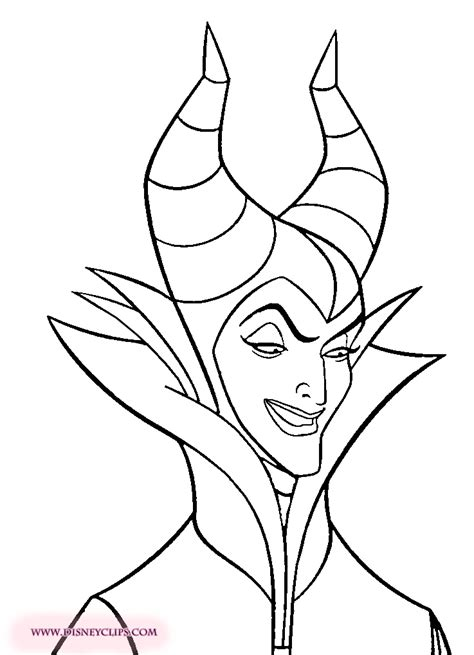 Maleficent Coloring Pages To Download And Print For Free Maleficent Coloring Pages
