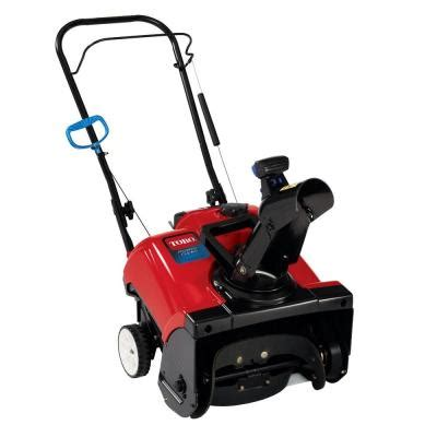 snow blowers at home depot power clear 418 18 in single stage electric start gas