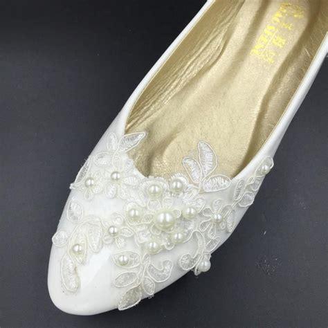 Schuhe Braut Vintage by Vintage Lace Wedding Shoes Bridal Ballet Shoes Lace Flats