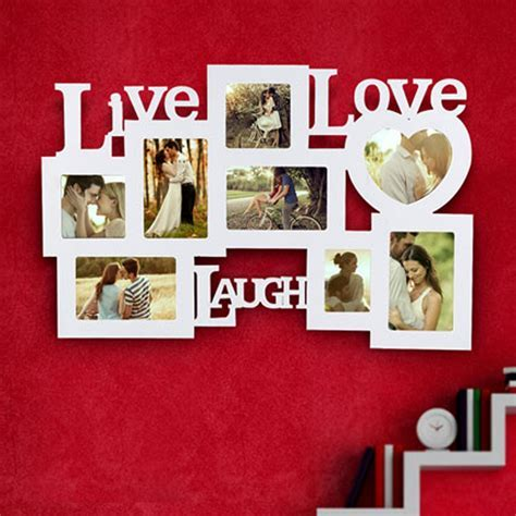 Send Live Laugh Love Frame Online from BookMyFlowers