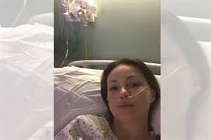 strictly s ola shares a selfie from hospital