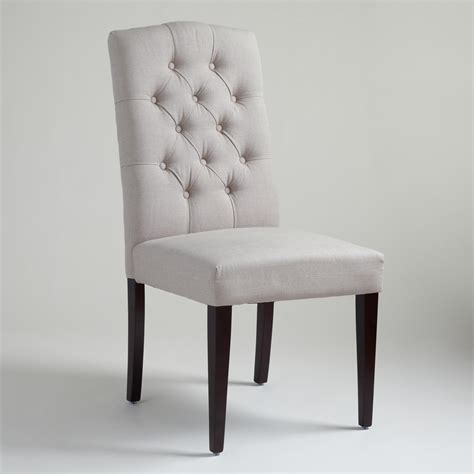 Grey Tufted Dining Chair Grey Tufted Dining Chair Gray Linen Tufted Gabie Dining Chair Charcoal Gray Tufted Dining