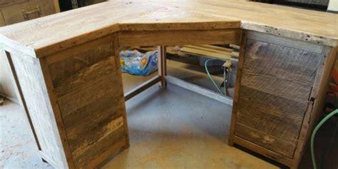 reclaimed wood corner desk reclaimed wood corner desk reclaimed pine furniture