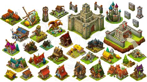 Home Design 3d Houses by Game Assets Store Isometric Art Assets For Indie Devs