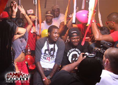 house party meek mill meek mill and young chris house party video shoot
