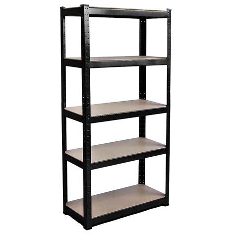 tier heavy duty garage shelves shelving racking boltless