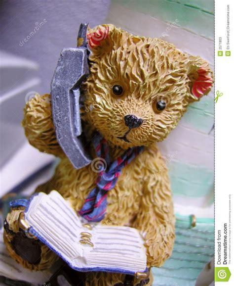 The Teddys And Toys Address Book teddy on phone stock photos image 2571803