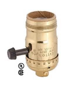 uno socket l base leviton brand reg on turn knob socket w uno thread