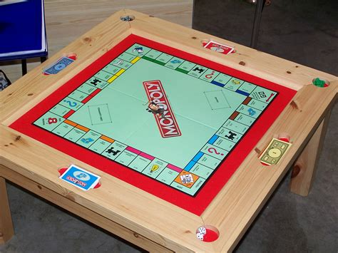 inspirations monopoly table