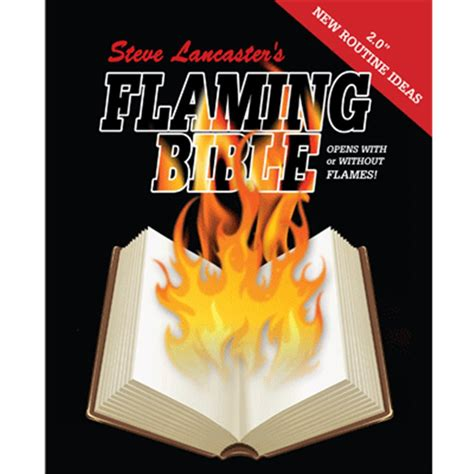 libro the plain in flames flaming book bible by steve lancaster