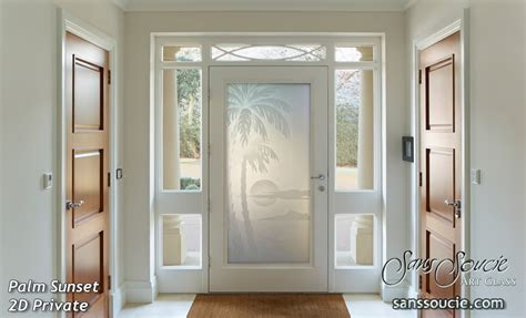Etched Glass Front Doors House With Oceanic Etched Glass Doors Sans Soucie