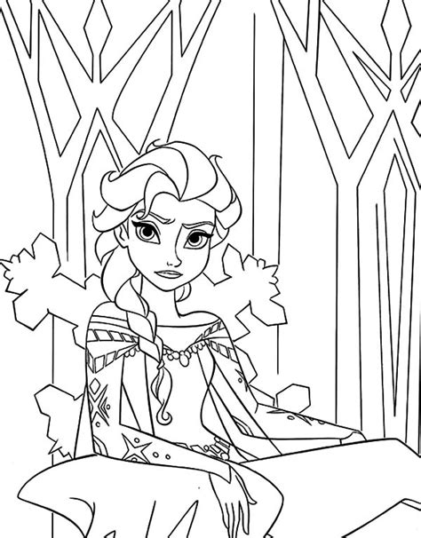 queen elsa printable coloring pages queen elsa from frozen coloring pages queen elsa from