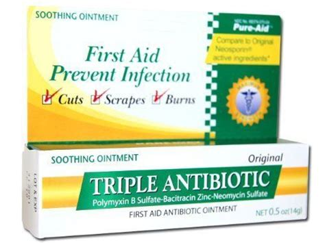 triple antibiotic ointment on tattoos antibiotic ointment 1 2 oz by superior