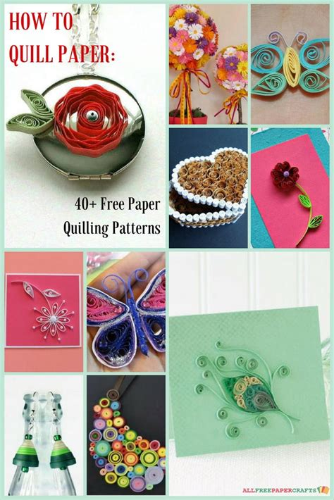 quilling paper art tutorial pdf how to quill paper 40 free paper quilling patterns