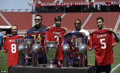 barcelona liga inggris barcelona siap perangi liga inggris agar pemain terbaik