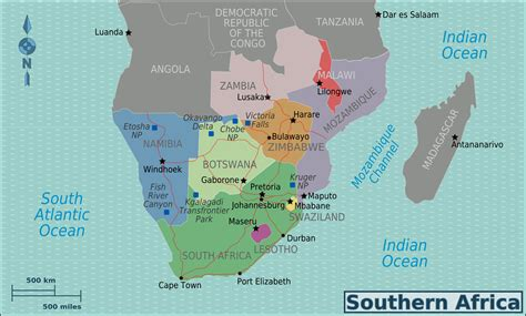 the of southern part two file southern africa new map png