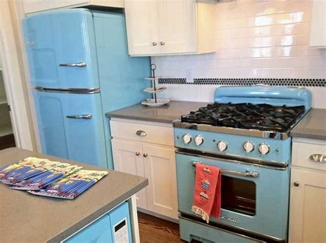 nostalgic kitchen appliances retro kitchen appliances interiors design