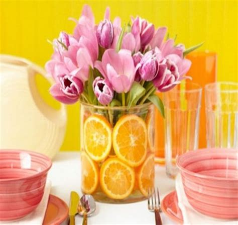 Summer Centerpieces by 6 Easy Summer Centerpieces