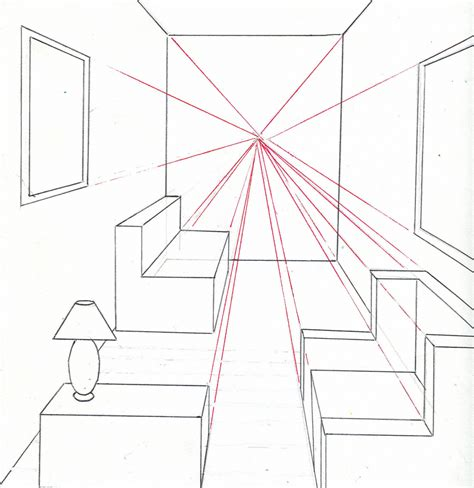 how to draw bedroom how to draw a bedroom pencil art drawing