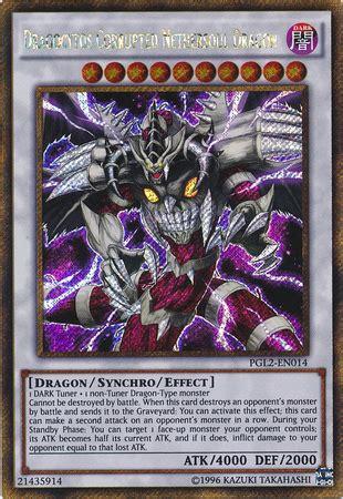 Kartu Yugioh Dragocytos Corrupted Nethersoul Gold Secret dragocytos corrupted nethersoul pgl2 en014 gold