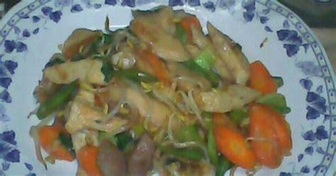 membuat capcay goreng seafood sederhana sayur komplit