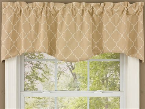 discontinued park design curtains sand riviera lined waverly curtain valance 58 quot x 18 quot