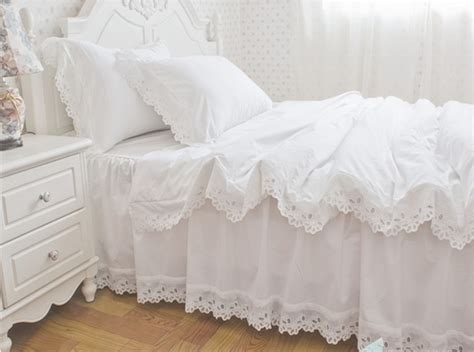 Cotton Bed Sheet Set Sprei Shabby Chic buy american style sanding cotton bedding set 4pc bed