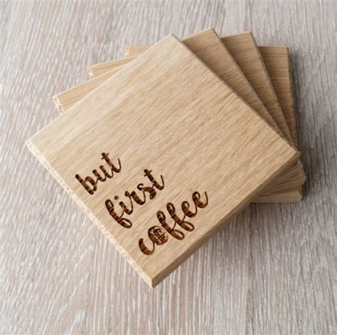Wooden Coaster wooden coasters solid wood drink or coffee by