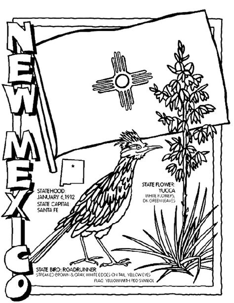 crayola coloring pages for summer new mexico color sheet for road trip summer bucket list