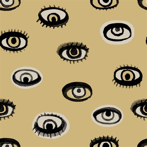 video eye pattern the lady katharine evil eye