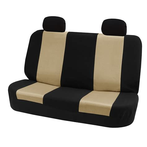 auto bench seat covers 7 piece classic cloth auto seat covers for high back