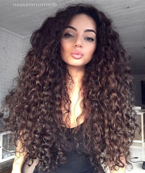 haircuts for long natural hair 2018 latest long hairstyles curly hair