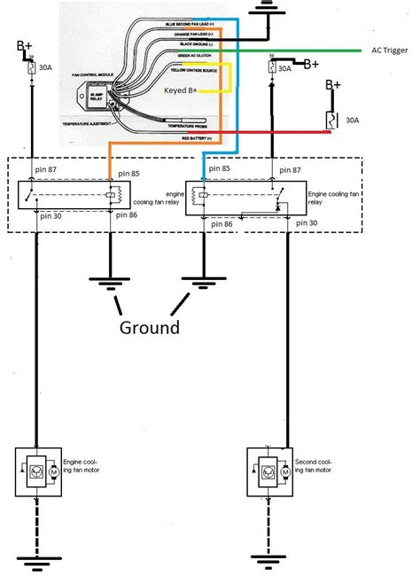 hayden electric fan wiring diagram wiring diagram