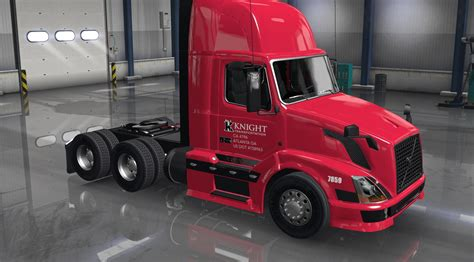 volvo truck shop knight transport for volvo shop v3 0 mod euro truck