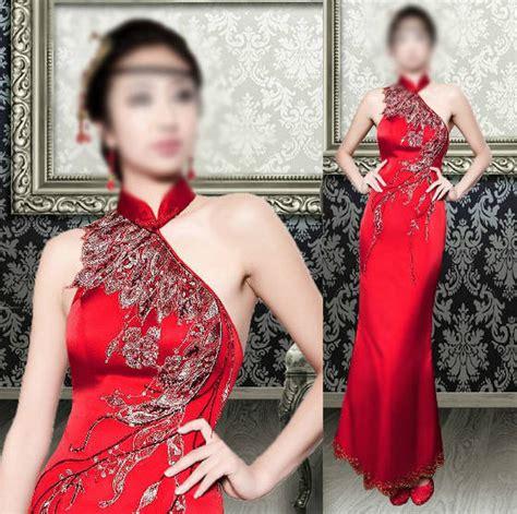 Diskon Dress Imlek Cheong Sam Sell Cheongsam Cheong Sam Chi Pao Style Dress Jqp001
