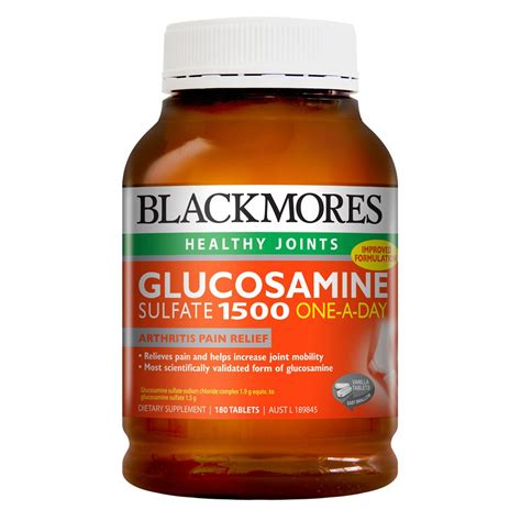Suplemen Vitamin E Buy Glucosamine Sulfate 1500 180 Tablets By Blackmores