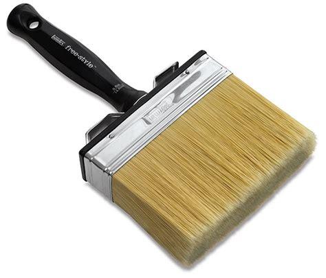 Large Scale Brush Liquitex Freestyle Broad Flat Brush 1 254cm liquitex freestyle handle brush blick materials