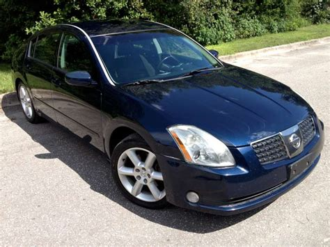 2005 nissan maxima mpg 2005 nissan maxima blue 200 interior and exterior images