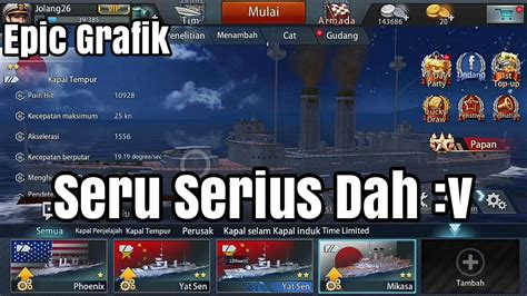 game mod yg seru king of warship gameplay seru parah youtube