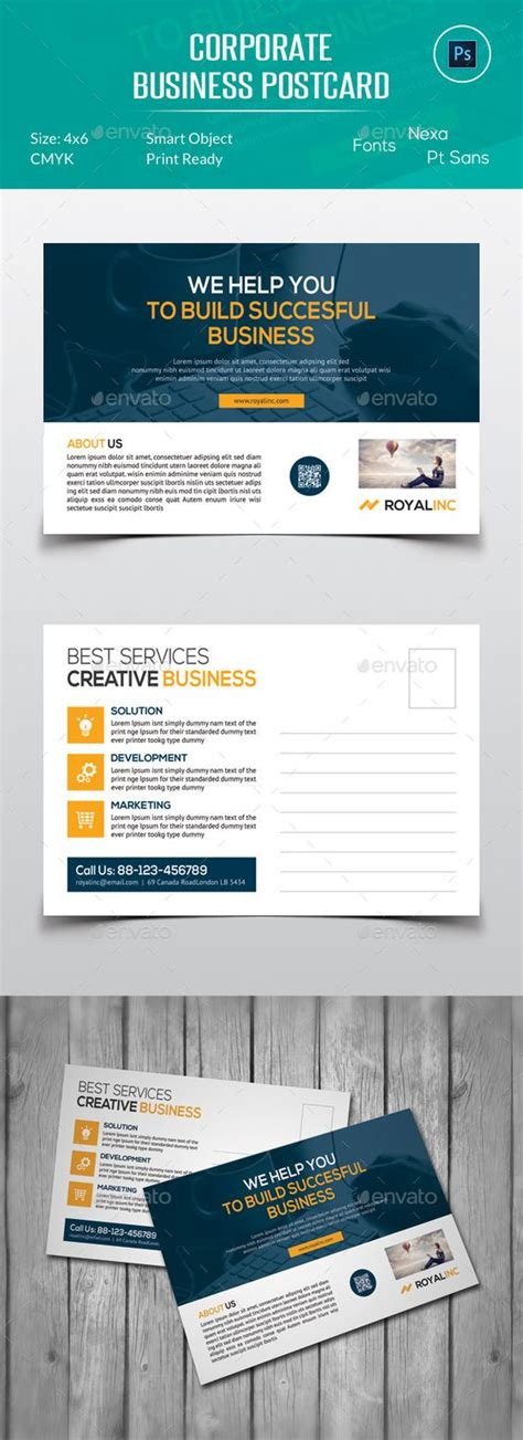1000 Ideas About Postcard Design On Pinterest Sticker Design Brochure Cover And Direct Mail Direct Mail Template Indesign
