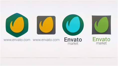 minimal logo corporate envato videohive after