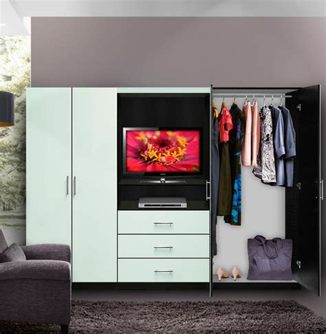 aventa bedroom wall unit tv unit  drawers  doors contempo space