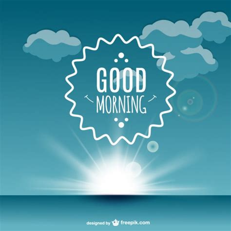 good morning vectors   psd files