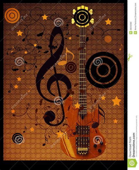 imagenes retro guitarra fondo de la guitarra de la m 250 sica del vintage foto de