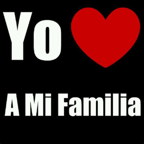 yo amo a mi familia