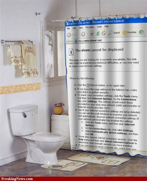 Funny Shower Curtains 20 Pics Curious Funny Photos