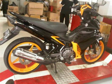 Shock Braker Yamaha Jupiter Mx Ori Yamaha Ygp Special Gp Edition modified 2011 yamaha jupiter mx in indonesia by hikmat