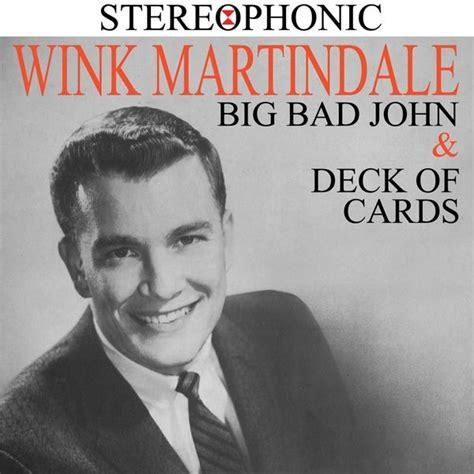 Wink Martindale Deck Of Cards by Big Bad Deck Of Cards Wink Martindale