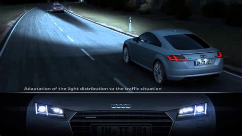 audi matrix headlights audi matrix led headlights in the audi tt